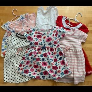 Other - 5 dresses and two tunic tees all 4T lot